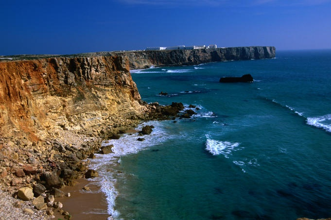 Fortaleza de Sagres ,coastline, The Algarve