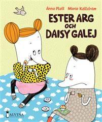 Ester Arg och Daisy Galej (EJ LÄST) Ester Arg och Daisy Galej har bott grannar i många herrans år. De är goda vänner och gör allt tillsammans. Som att spela crocket, åka till badhuset och ha bananfrossa. Och så fikar de. Daisy älskar att baka och det doftar av vanilj och kanel hemma hos henne. Hon dukar fram fina fat och kaffekoppar smyckade med blommor och fjärilar. Och så sätter hon på en skiva med glad musik.