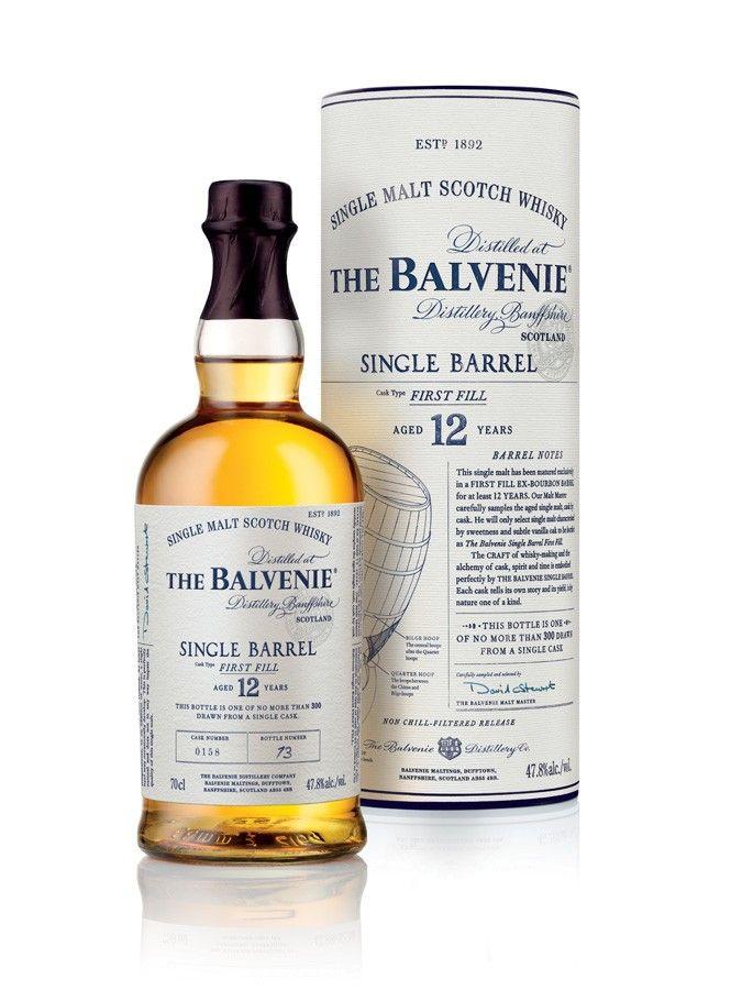 Whisky The Balvenie Single Barrel First Fill 12 ans