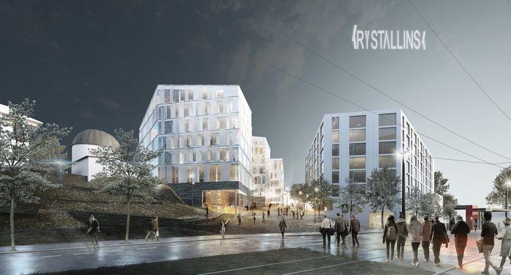 EnTek - Krystallinsk - Arkitektgruppen Cubus