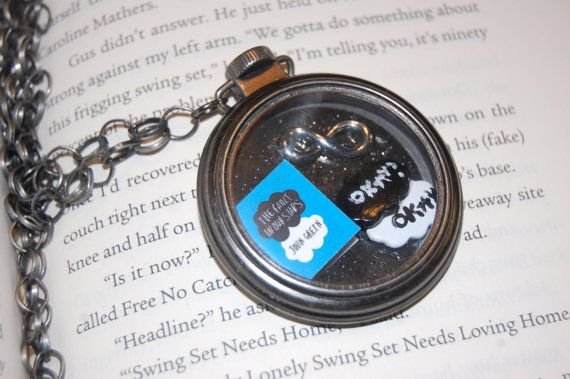 The Fault in Our Stars Pocket Watch Style by WickedDesignsByBeth. I want this!!