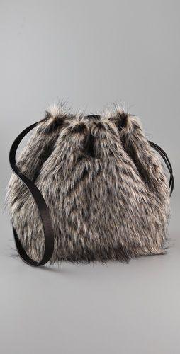 Marc Jacobs Faux Fur Bag