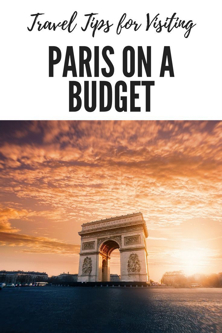Travel Tips for Visiting Paris on a budget. When it comes to visiting Paris, you do generally expect that your trip will be costly. If you want to stay in comfortable hotels, eat exquisite dinners at top restaurants or visit prestigious museums and monuments then you might have to raid your piggy bank but is it possible to do Paris without going broke? #paris #france