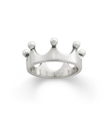 This is so cute - all my girls - @rebeccalynn13 @sara_johnston  and I need this. Princess Crown Ring | James Avery