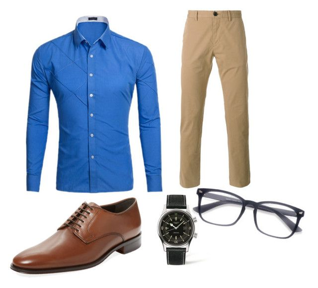 9 by kiky77 on Polyvore featuring Paul Smith, Bruno Magli, Longines, men's fashion and menswear