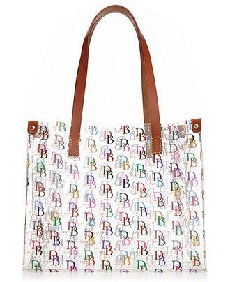 5557f4a39ee clear medium shopper dooney amp bourke handbags amp accessories macy s