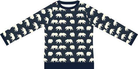 Gratis sweatshirtpatroon | De droomfabriek.