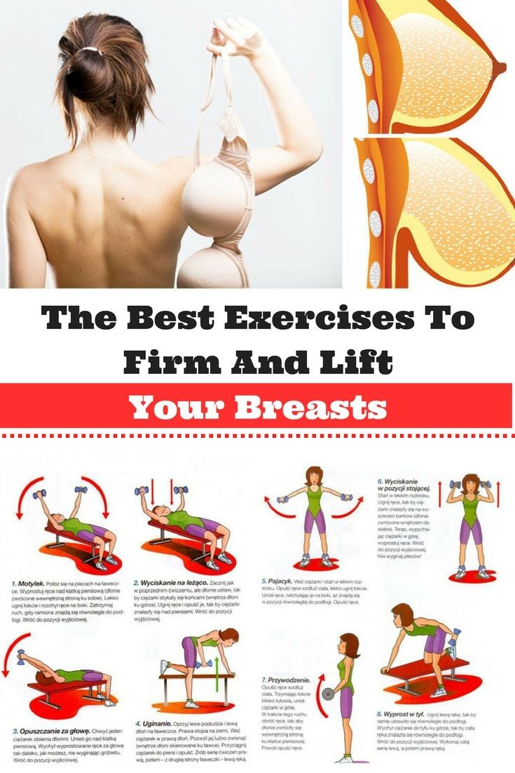 The Best Exercises To Firm And Lift Your Breasts http://wp.me/p7WDIW-OQ