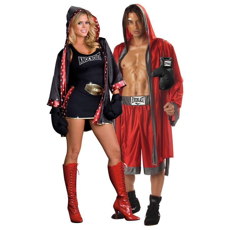 couples costumes | Everlast Boxing and TKO: Total Knock Out (Convertible) Image