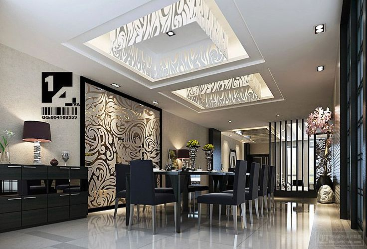 Home Interior, Luxurious classic dining chinese: Chic Modern Chinese Home Interior Design Inspiration by 14 YA