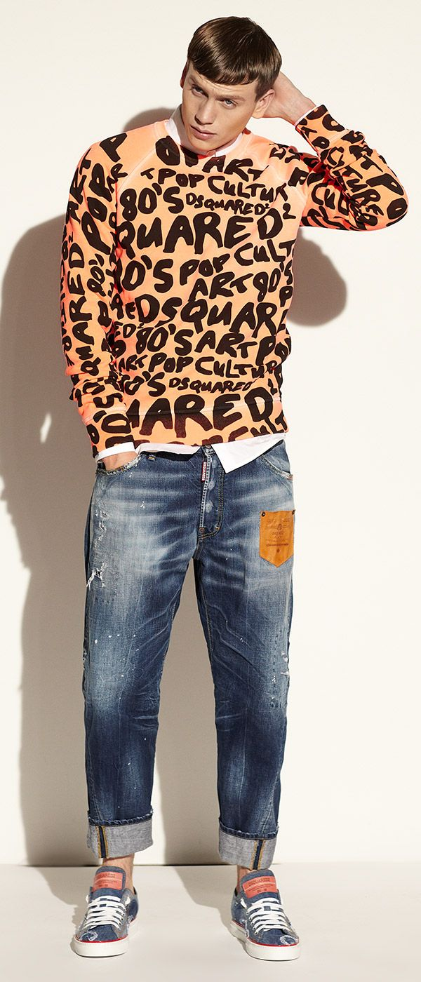 The art of style, according to DSQUARED. Express yourself with new arrivals in shoes, apparel, & accessories. #SaksMen