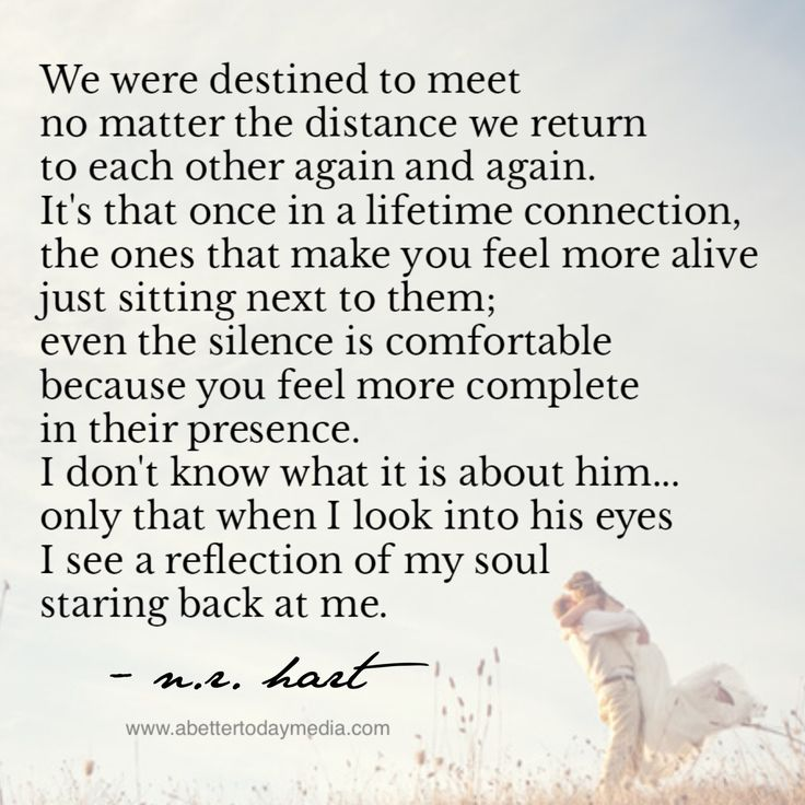 We have always come back to each other - I thought we were just supposed to be best friends - boy was I wrong - this is amazing - I love you Johnny