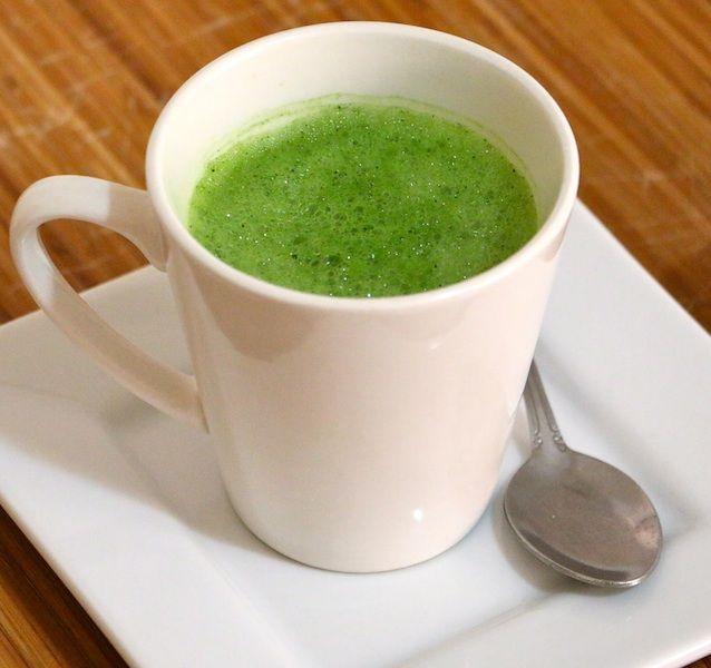 Light & Frothy Green Tea Latte - To Live & Diet in LA