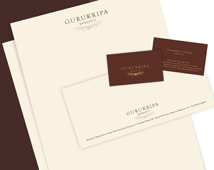 Gurukripa Banquets - Corporate Stationery