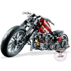 Decool 3353 3354 Technic Motorbike Motorcycle Block Brick Toy Set Boy Game Gift Compatible with lego