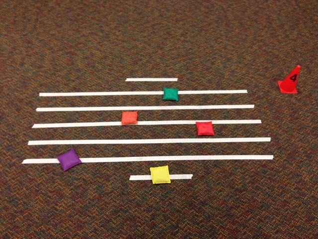 The 4th and 5th grade classes have been spending some time reviewing lines and spaces in preparation for our recorder unit. I love using ce...