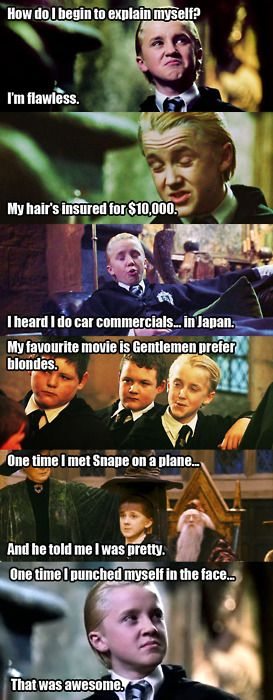 harry potter mean girls memes | explaining Draco