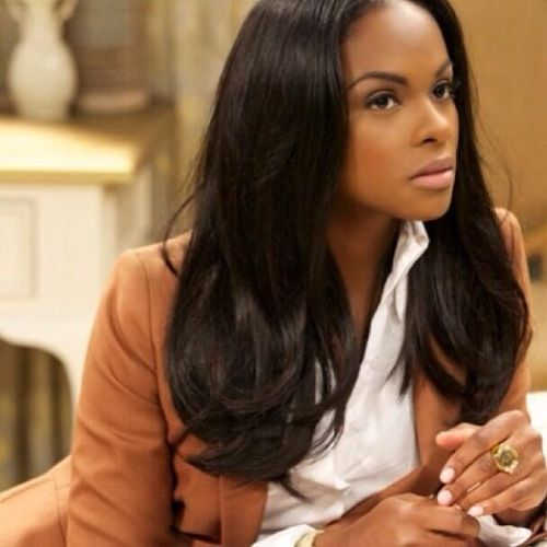 Tika Sumpter  I always love her make-up