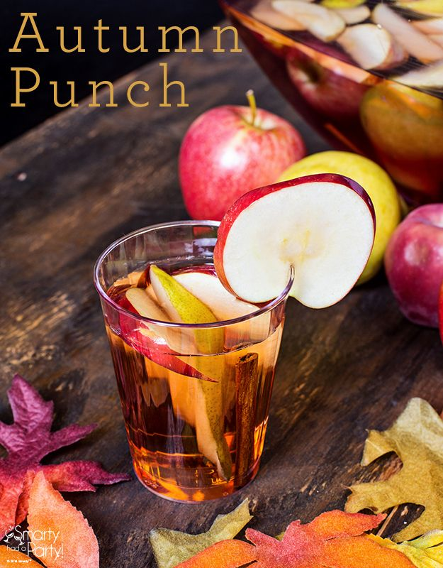 Autumn Punch Recipe - We used Virtuous Livings Faith Spice instead of Honey or Agave... YUM!!