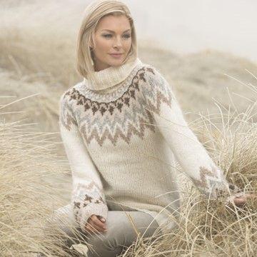 dans genser strikkemekka