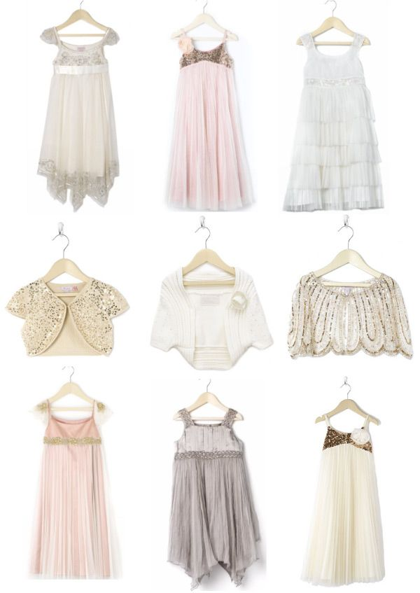 Flower Girl Dresses by Monsoon | Style Me Pretty
