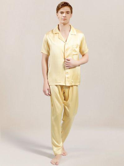 2ea0d0dca2 Men s Mulberry Silk Pajama Set