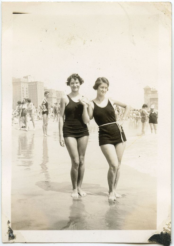 1920s bathing beauties  also 6/26/12 post girls King Tut their arm
