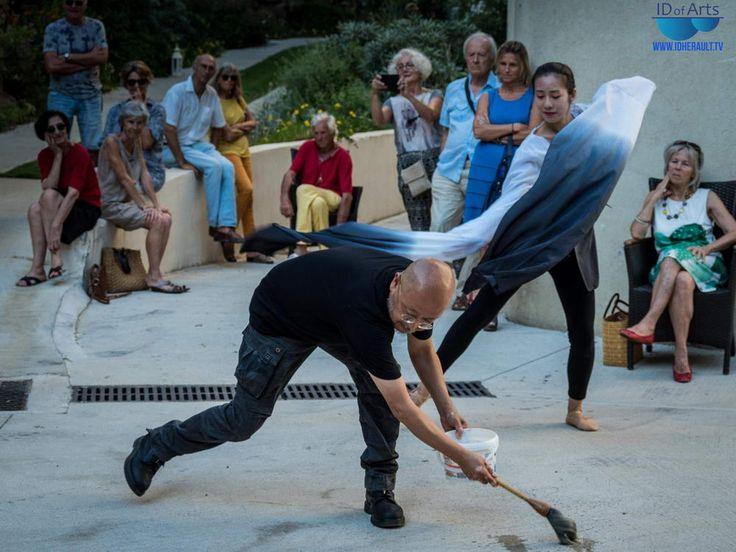 L'art et la Chine à Sète : Visite et performance de GONG LIN au Musée Paul…