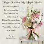 Birthday in Heaven Poem for Mom | Happy-Birthday-My-Angel ...