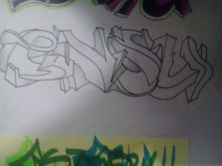 Ensu, boceto Graffiti
