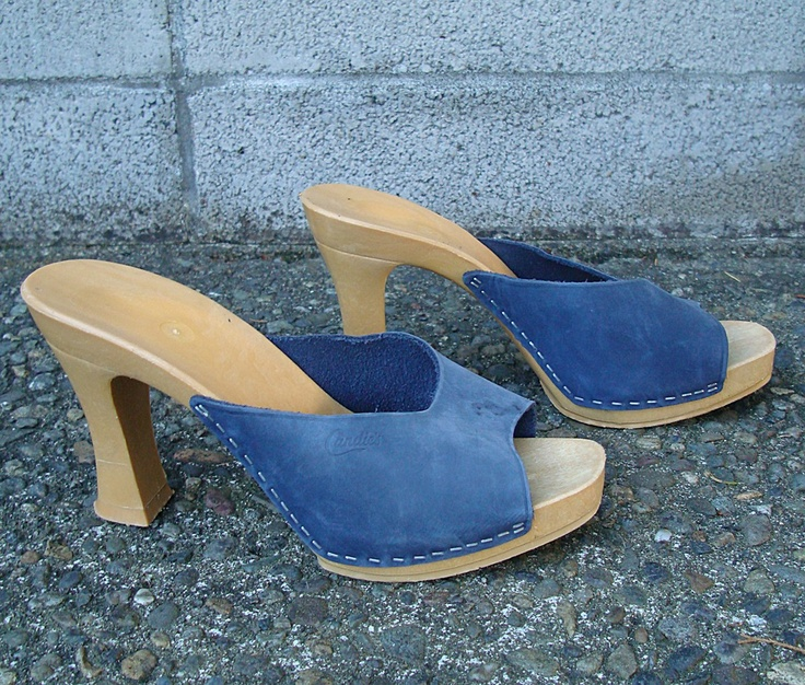 Vintage 1970s Candies Heels.  I how I loved these shoes.  I wish they would make them again exactly like they were.  So comfy.
