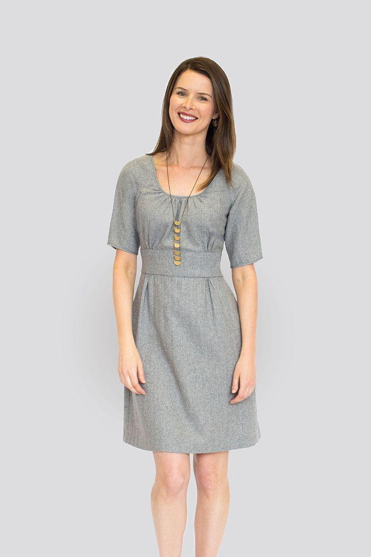 57 best Dress patterns images on Pinterest | Sewing patterns, Dress ...