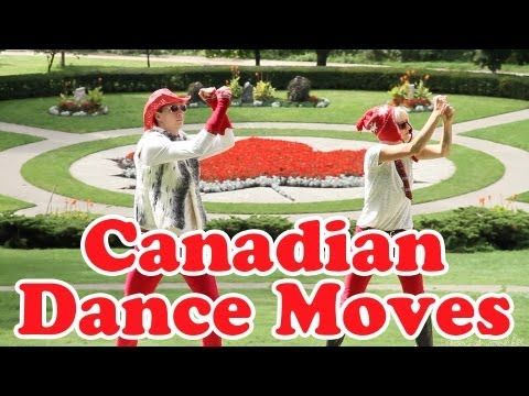 """Canadian"" Dance Moves. This would be really cute to use for social studies - I can just picture a class dance party filled with nation-inspired dance moves!"