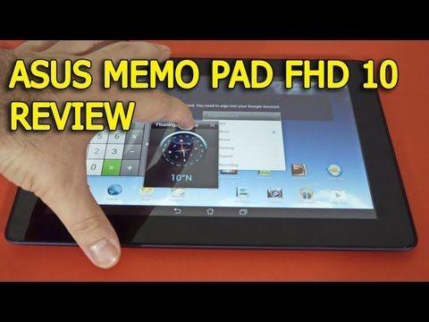 ASUS MeMo Pad FHD 10 review Full HD in limba romana - Mobilissimo.ro