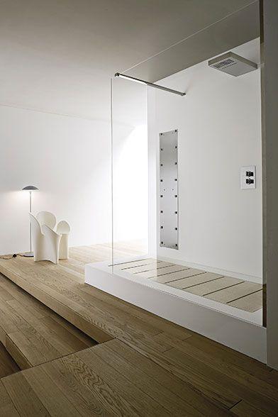 Lavabi bagno freestanding o sospesi, Vasca ovale con vani libreria, Vascadoccia