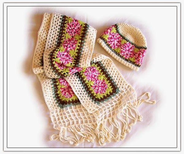Romans z szydełkiem: Vintage crochet