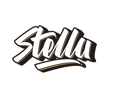 """Check out new work on my @Behance portfolio: """"Lettering Stella"""" http://be.net/gallery/45146801/Lettering-Stella"""