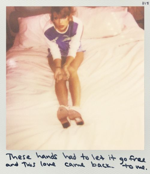 Taylor Swift Polaroid - This Love #1989