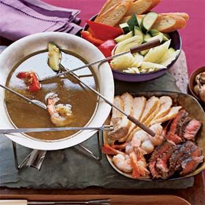 """Bagna Cauda - """"Translated literally, bagna cauda means 'hot bath.' In practice, it's a great alternative to cheese-based French fondue (and much easier to make)."""""""