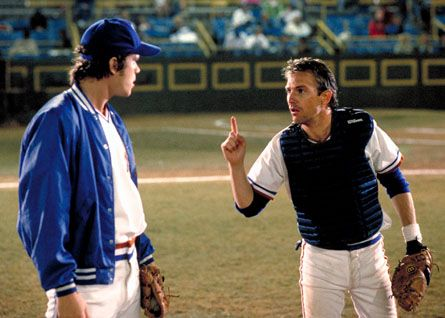 Crash Davis was a fictional character in the film Bull Durham. What most people do not know is there was an actual man named Crash Davis who played for Duke University.