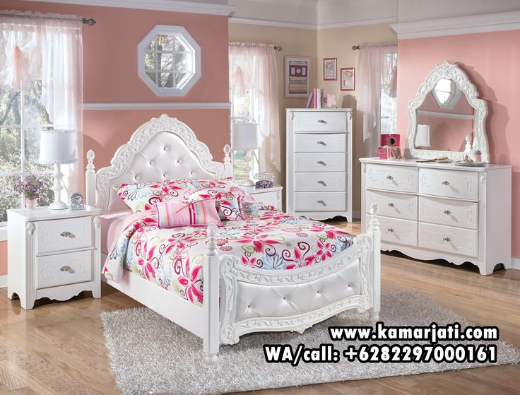 White Bedroom Furniture For Kids. Stylish Girls Bedroom Sets Small ...