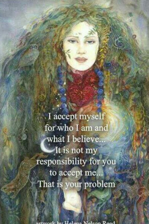 Who I am...  I like it.. don't like the last line though.. it sounds confrontational.. true but unnecessary to make this quote effective. ~ Sara