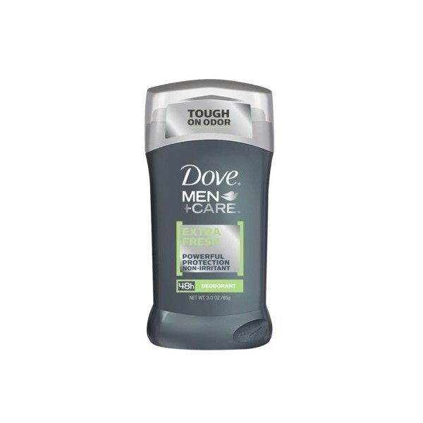 Dove Men+Care Extra Fresh Deodorant 3 oz ($3.89) ❤ liked on Polyvore featuring mens, men's grooming, men's deodorant, mess, deodorant and personal care