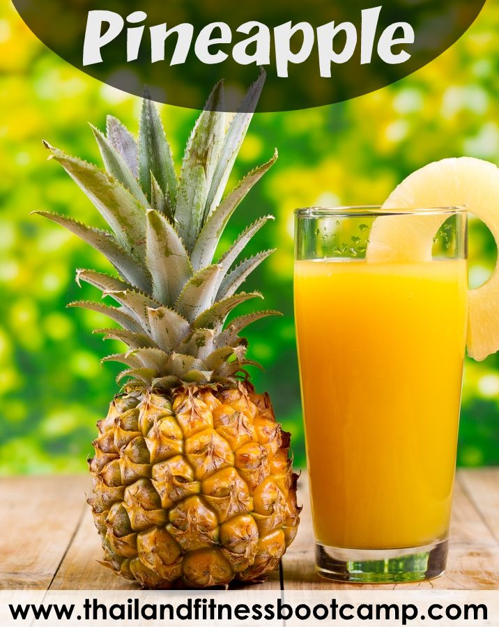 Pineapple is surprisingly good for you with a potent and unique nutritional profile. Among multiple benefits of pineapple, improved digestion, arthritis treatment, better skin, more energy, disease prevention and prevention of coughs and colds are most notable.