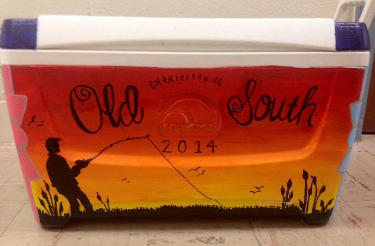 Old south KA kappa alpha order cooler