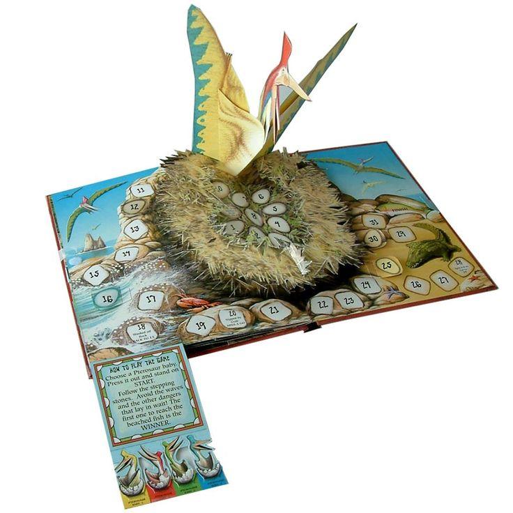 Prehistoric Pop-up Board Game 2