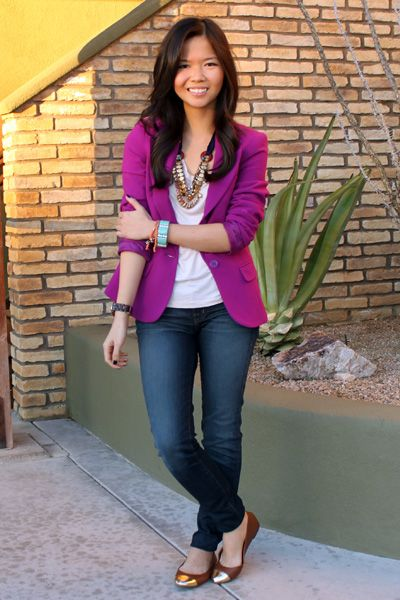 LOVE this outfit! i'm getting that blazer!!!
