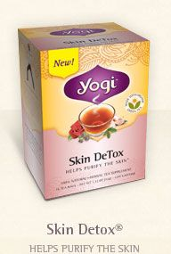 best tea ever! Helps clear your skin.  You can pick it up at most health food stores/whole foods. #DetoxSkin