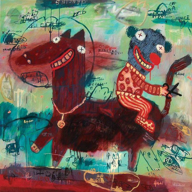 "Saatchi Art Artist deny pribadi; Painting, ""dancing"" #art"