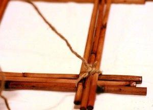 рамка для фотографий из бамбука своими руками